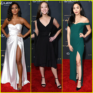 Sydney Park & Aubrey Anderson-Emmons Glam Up For Unforgettable Gala 2019
