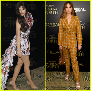 Camila Cabello & Debby Ryan Arrive in Style for L'Oreal Paris Women of Worth Awards 2019