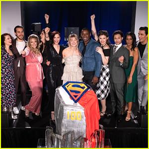 Melissa Benoist & 'Supergirl' Cast Hit 100 Episode Milestone!