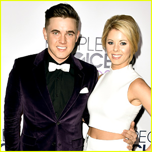 Jesse McCartney & Fiancee Katie Peterson Don Matching Pajamas for Tree Decorating Video!