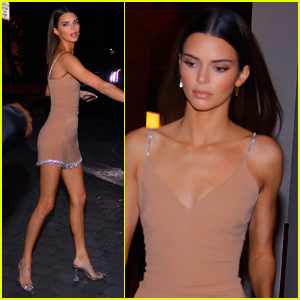 Kendall Jenner Rocks Hot Look for Dinner in Miami!