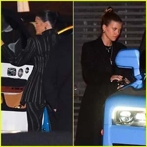 Kylie Jenner Joins Sofia Richie & Caitlyn Jenner for Dinner in Malibu