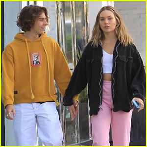 Maddie Ziegler Holds Hands With Boyfriend Eddie Benjamin In Beverly Hills