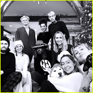 Cody Simpson Spends Christmas with Miley Cyrus' Family