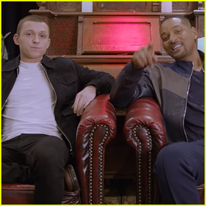 Tom Holland Meets Will Smith in an Escape Room! (Video)
