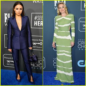 Aimee Carrero & AJ Michalka Rep 'She-Ra' at Critics' Choice Awards 2020