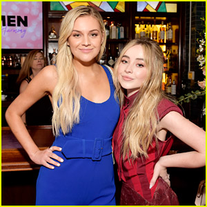 Sabrina Carpenter & Kelsea Ballerini Hang Out at Bebe Rexha's Pre-Grammys Brunch!