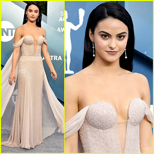 Camila Mendes Wins Best Dressed at SAG Awards 2020 - See Her Look Now!