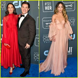 Chloe Bridges & Adam DeVine Are Picture Perfect at Critics' Choice Awards 2020!