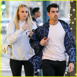 Sophie Turner Says Bye to Joe Jonas Ahead of the Grammys