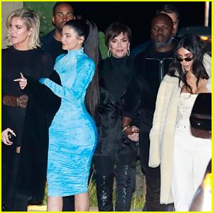 Kylie Jenner Joins Her Famous Family for Sushi Dinner in Malibu