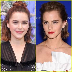 Kiernan Shipka Had a Hilarious Response to a Fan Who Thought She Was Emma Watson