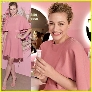 Lili Reinhart Celebrates Her Role as Covergirl's New Face!