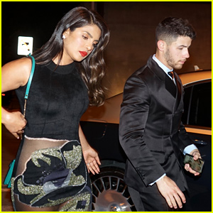 Nick Jonas & Priyanka Chopra Couple Up for Golden Globes 2020 After-Party