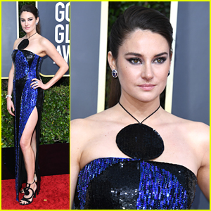 Shailene Woodley Bold Blue Dress Is Fashion Goals at Golden Globes 2020