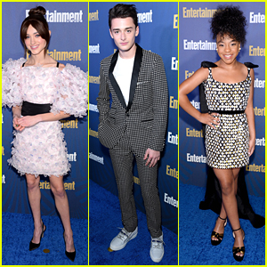'Stranger Things' Cast Step Out For Entertainment Weekly's SAG Awards Party
