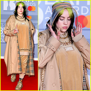 Billie Eilish Wears a Clear Visor to BRIT Awards 2020