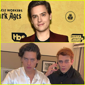 Dylan Sprouse Shares Hilarious Photo of Brother Cole & KJ Apa