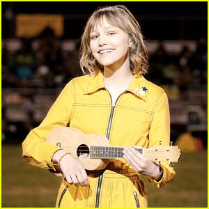 Watch Grace VanderWaal Sing 'Be True to Your School' for Her Movie 'Stargirl' (Exclusive Video)