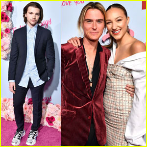 Joel Courtney Joins Ava Michelle & Luke Eisner at 'To All The Boys 2' Premiere