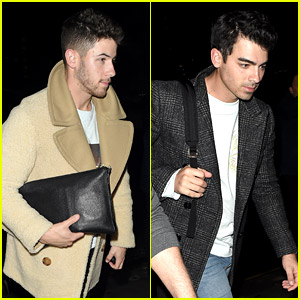 The Jonas Brothers Are Back in London After a Quick Stop in Dublin