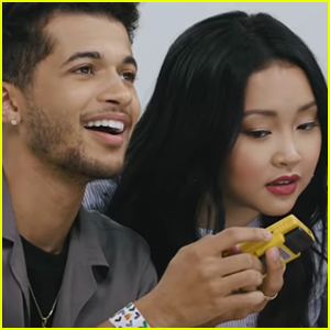Jordan Fisher Thanks Lana Condor for 'Putting Up With' Him & Noah Centineo