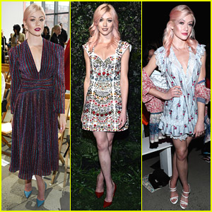 Katherine McNamara Slays Fashion Week at 3 Shows In 1 Day!
