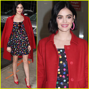 Lucy Hale's Outfit Is Giving Us Valentine's Day Inspiration