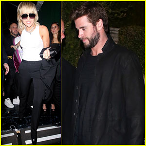 Miley Cyrus Spotted Leaving Same Oscars Party as Liam Hemsworth, Minutes Apart!