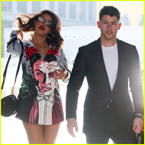 Nick Jonas & Wife Priyanka Chopra Enjoy Romantic Dinner Date in Italy