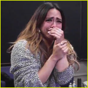 Ally Brooke Tears Up While Rehearsing For 'Time to Shine' Tour