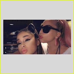 Ariana Grande Basically Confirms Lady Gaga Collaboration!