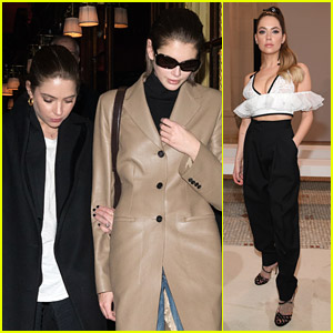 Ashley Benson & Kaia Gerber Go To Dinner Together In Between Fashion Shows