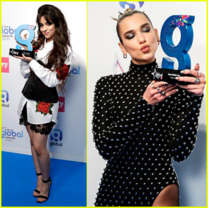 Camila Cabello Wins Best Female Act at Global Awards 2020!