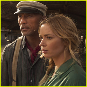 Dwayne Johnson & Emily Blunt Show Off Some of the 'Jungle Cruise' Comedy Elements In New Trailer