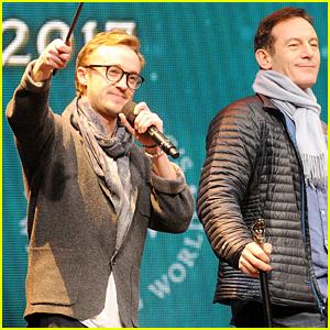 Tom Felton Has Mini 'Harry Potter' Reunion via Video Chat!