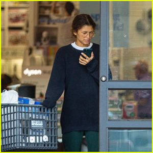 Zendaya Goes Grocery Shopping to Stock Up for Coronavirus Outbreak