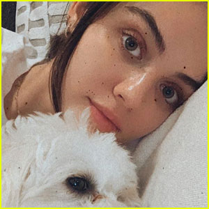 Lucy Hale Celebrates Her Quarantine Buddy's Birthday!