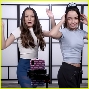 The Merrell Twins Try Learning Popular TikTok Dances In New Video