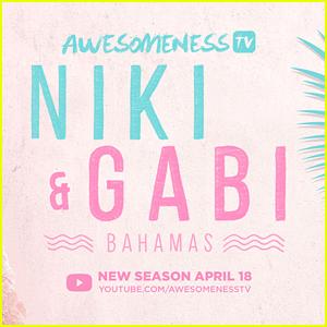 Niki & Gabi DeMartino Release Full Length Trailer For 'Niki & Gabi Take Bahamas'