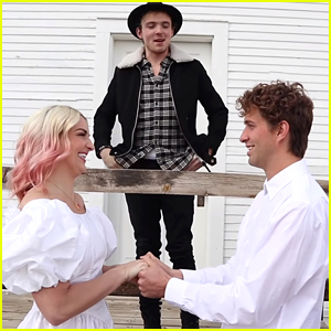 Rydel Lynch & Capron Funk Have 'Pre Wedding Wedding' In Quarantine