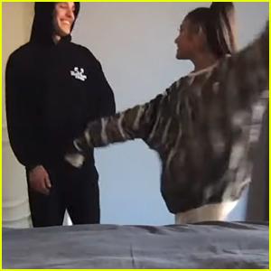 Ariana Grande's New Boyfriend Dalton Gomez Makes Cameo in 'Stuck with U' Video!
