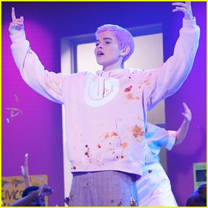 Belieber Kate Godfrey Stars As Justin Bieber In 'Yummy' Parody On 'All That' - Sneak Peek Video!