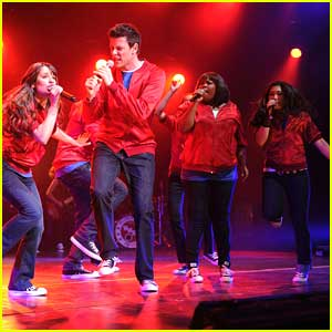 'Glee' Cast Perform at Radio City Music Hall In New York City - Throwback Thursday!
