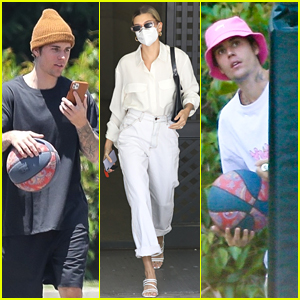 The Biebers Are Keeping Busy with Basketball & Business!