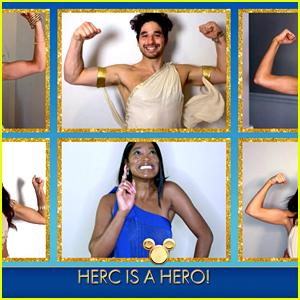 Keke Palmer Sings 'Zero To Hero' With DWTS Pro Dancers On 'Disney Family Singalong'