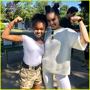 Lidya Jewett Shares 'Feel The Beat' Behind-The-Scenes Photos With Sofia Carson & More