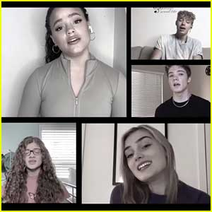 Meg Donnelly, Sarah Jeffery & More Sing 'I'll Be There For You' To Support The Homeless