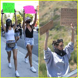 SO Many Celebs Have Been Out at Black Lives Matter Protests