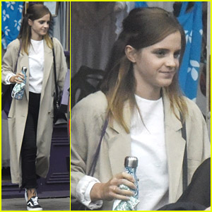 Emma Watson Steps Out for Some Shopping in London